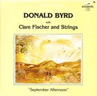 DONALD BYRD September Afternoon album cover
