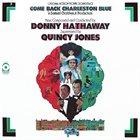 DONNY HATHAWAY Come Back Charleston Blue (Original Motion Picture Soundtrack) album cover