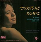 DOROTHY DONEGAN Dorothy Romps : A Piano Retrospective 1953-1979 album cover