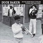 DUCK BAKER Do You Know What It Means To Miss New Orleans album cover