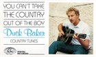 DUCK BAKER You Can't Take The Country Out Of The Boy album cover