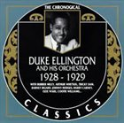 DUKE ELLINGTON 1928-1929 album cover