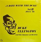 DUKE ELLINGTON A Date With The Duke Vol 8 1945-46 album cover