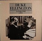 DUKE ELLINGTON At Fargo, 1940: Live album cover