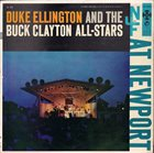 DUKE ELLINGTON At Newport (with Buck Clayton All-Stars) album cover