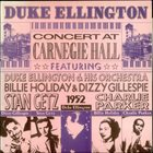 DUKE ELLINGTON Concert At Carnegie Hall album cover