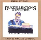 DUKE ELLINGTON Duke Ellington's Greatest Hits album cover