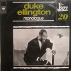 DUKE ELLINGTON Monologue album cover