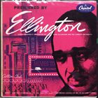 DUKE ELLINGTON Premiered by Ellington album cover