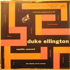 DUKE ELLINGTON Seattle Concert album cover