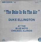 DUKE ELLINGTON The Duke Is On The Air album cover