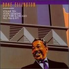 DUKE ELLINGTON The Private Collection, Vol. 10: Studio Sessions, New York & Chicago, 1965, 1966 & 1971 album cover