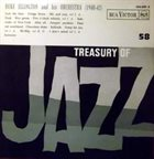DUKE ELLINGTON Treasury Of Jazz No. 58 ( 1940 - 42 ) album cover