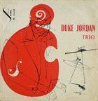 DUKE JORDAN Duke Jordan Trio (aka Jordu) album cover