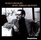 DUKE JORDAN Duke's Delight album cover