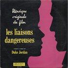 DUKE JORDAN Les Liaisons Dangereuses album cover