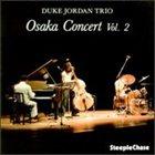 DUKE JORDAN Osaka Concert, Vol. 2 album cover