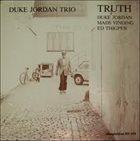 DUKE JORDAN Truth album cover