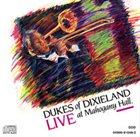 DUKES OF DIXIELAND (1975) Live At Mahogany Hall album cover