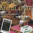 DUKES OF DIXIELAND (1975) New Orleans Mardi Gras (With Luther Kent) album cover