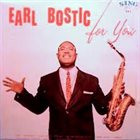 EARL BOSTIC For You album cover