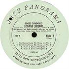 EDDIE CONDON Eddie Condon's Chicago Doubles album cover