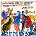 EDDIE CONDON Live at the New School 1972 album cover