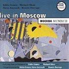 EDDIE GOMEZ Live in Moscow album cover