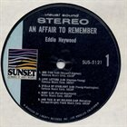 EDDIE HEYWOOD JR An Affair To Remember album cover