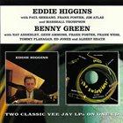 EDDIE HIGGINS Eddie Higgins / Benny Green : Eddie Higgins / The Swingin'est album cover