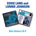 EDDIE LANG Eddie Lang & Lonnie Johnson : Blue Guitars I and II album cover