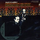 EDMOND HALL Edmond Hall / Art Hodes ‎: Original Blue Note Jazz. Volume 1 album cover