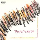 EGBERTO GISMONTI Piazzollando (aka Astor Piazzolla New Tango, Brazilian Touch) album cover
