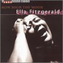 ELLA FITZGERALD A Jazz Hour With Ella Fitzgerald: How High the Moon album cover