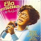 ELLA FITZGERALD All That Jazz album cover
