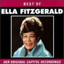 ELLA FITZGERALD Best of Ella Fitzgerald: Her Original Capitol Recordings album cover