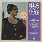 ELLA FITZGERALD Ella Loves Cole album cover