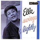 ELLA FITZGERALD Ella Swings Lightly album cover
