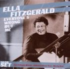 ELLA FITZGERALD Everyone's Wrong but Me album cover