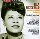 ELLA FITZGERALD Sing Me A Swing Song album cover