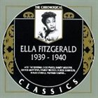 ELLA FITZGERALD The Chronological Classics: Ella Fitzgerald 1939-1940 album cover