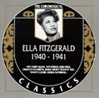 ELLA FITZGERALD The Chronological Classics: Ella Fitzgerald 1940-1941 album cover