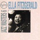 ELLA FITZGERALD Verve Jazz Masters 6: Ella Fitzgerald album cover