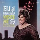 ELLA FITZGERALD Whisper Not album cover