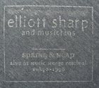 ELLIOTT SHARP Spring & Neap album cover