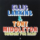 ELLIS LARKINS Ellis Larkins & Tony Middleton : Swingin' For Hamp album cover