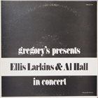 ELLIS LARKINS Gregory's Presents Ellis Larkins And Al Hall In Concert album cover