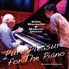 ELLIS MARSALIS Ellis Marsalis &  Makoto Ozone : Pure Pleasure For The Piano album cover