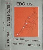 ELTON DEAN EDQ  Live album cover