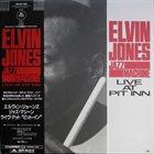 ELVIN JONES Live At Pit Inn album cover